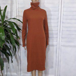 NWT Fashion Nova Orange Maxi Sweater Dress XL